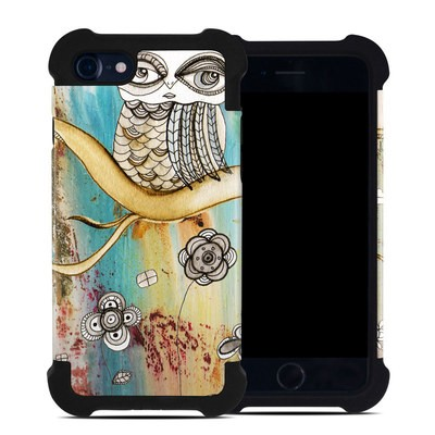 Apple iPhone 7 Bumper Case - Surreal Owl