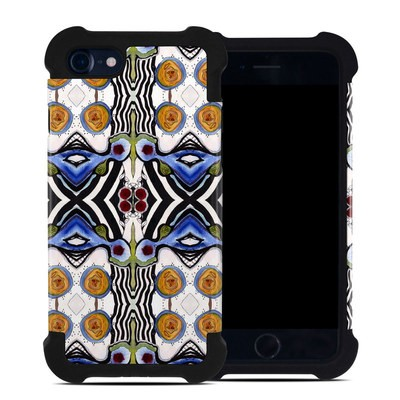 Apple iPhone 7 Bumper Case - Tribal Sun