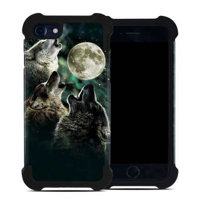 Apple iPhone 7 Bumper Case - Three Wolf Moon