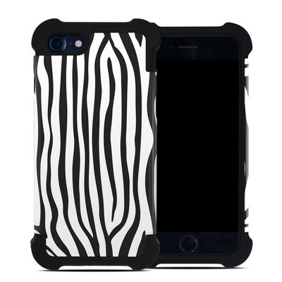 Apple iPhone 7 Bumper Case - Zebra Stripes