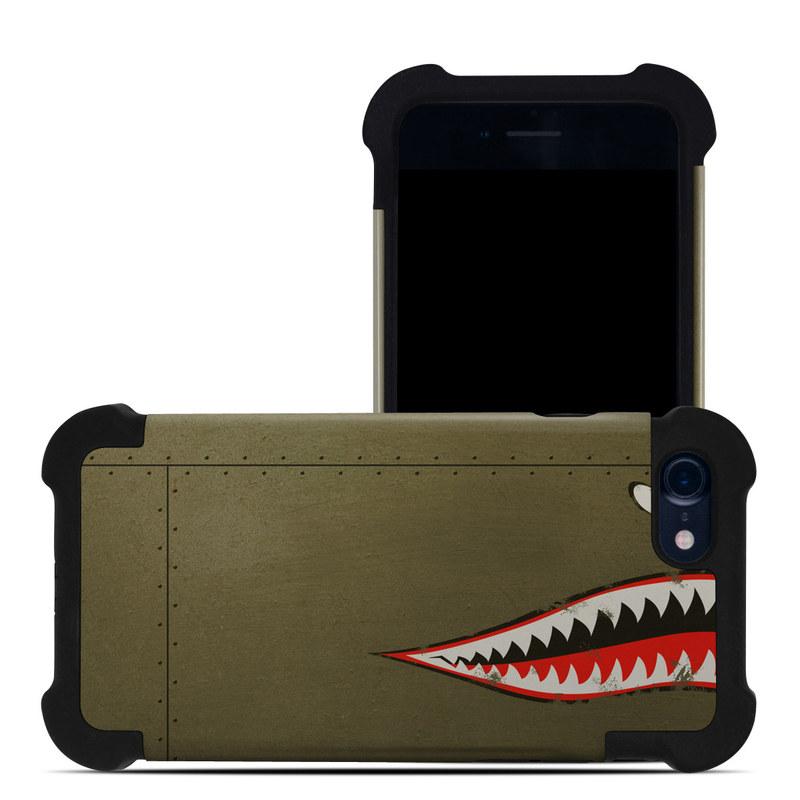 apple iphone 7 bumper case usaf shark by us air force. Black Bedroom Furniture Sets. Home Design Ideas