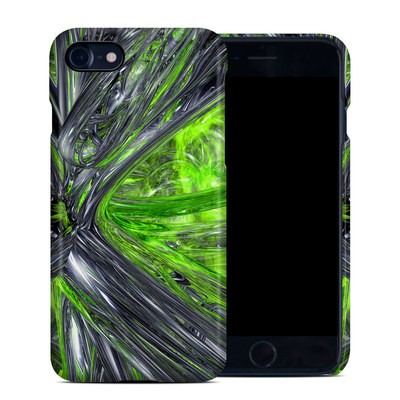 Apple iPhone 7 Clip Case - Emerald Abstract