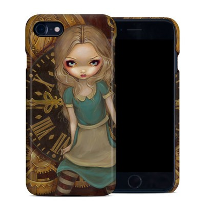 Apple iPhone 7 Clip Case - Alice Clockwork