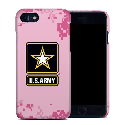 Apple iPhone 7 Clip Case - Army Pink