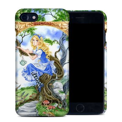 Apple iPhone 7 Clip Case - Alice's Tea Time