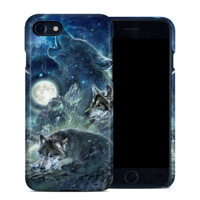 Apple iPhone 7 Clip Case - Bark At The Moon
