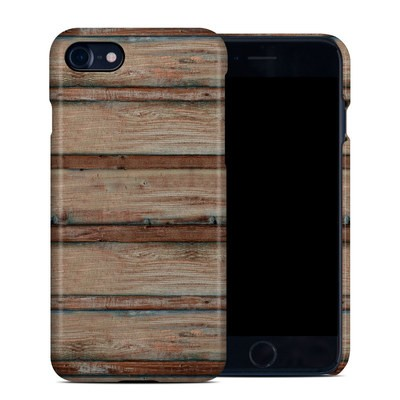 Apple iPhone 7 Clip Case - Boardwalk Wood