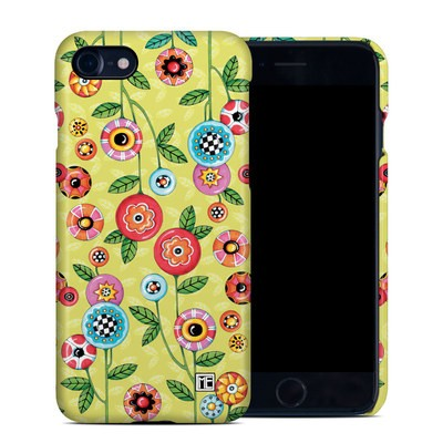 Apple iPhone 7 Clip Case - Button Flowers