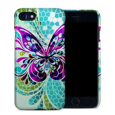 Apple iPhone 7 Clip Case - Butterfly Glass