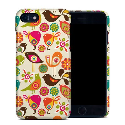 Apple iPhone 7 Clip Case - Bird Flowers