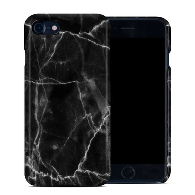 Apple iPhone 7 Clip Case - Black Marble