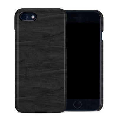 Apple iPhone 7 Clip Case - Black Woodgrain