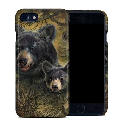 Apple iPhone 7 Clip Case - Black Bears