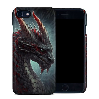 Apple iPhone 7 Clip Case - Black Dragon