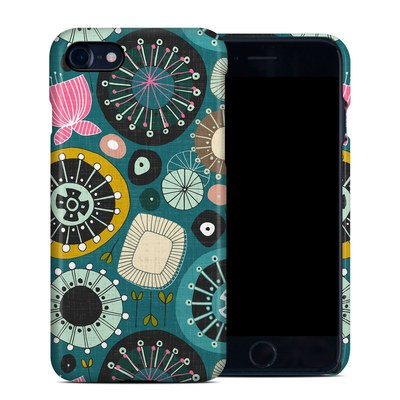 Apple iPhone 7 Clip Case - Blooms Teal
