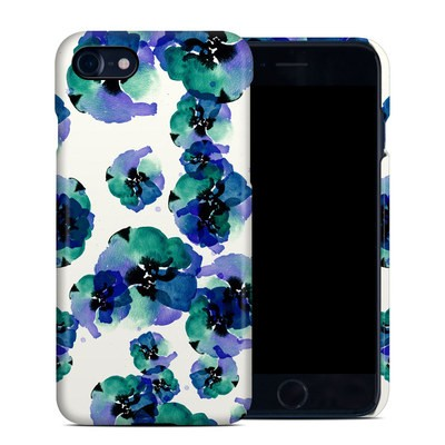Apple iPhone 7 Clip Case - Blue Eye Flowers
