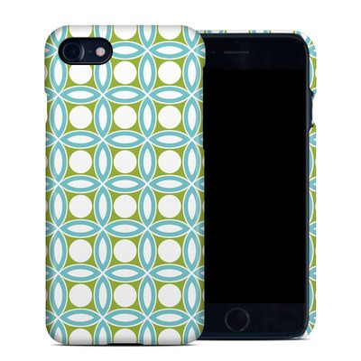 Apple iPhone 7 Clip Case - Blue Geo