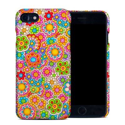 Apple iPhone 7 Clip Case - Bright Ditzy