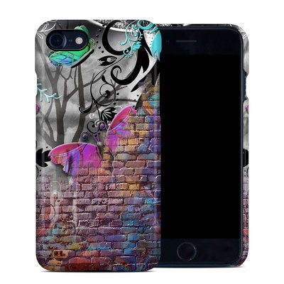 Apple iPhone 7 Clip Case - Butterfly Wall