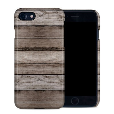 Apple iPhone 7 Clip Case - Barn Wood