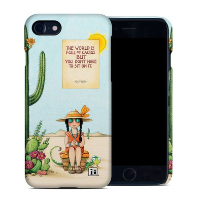 Apple iPhone 7 Clip Case - Cactus