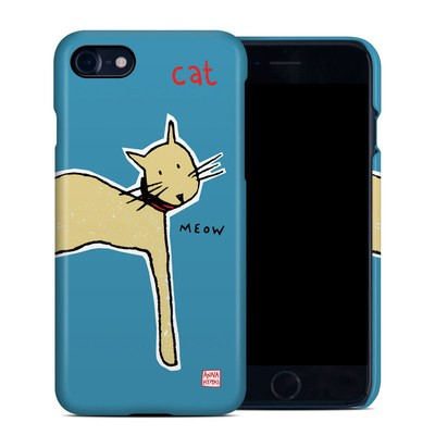 Apple iPhone 7 Clip Case - Cat