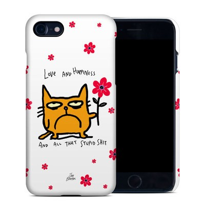 Apple iPhone 7 Clip Case - Catwad Happy