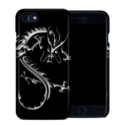 Apple iPhone 7 Clip Case - Chrome Dragon