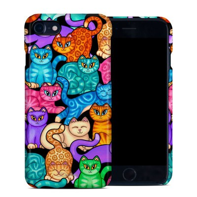 Apple iPhone 7 Clip Case - Colorful Kittens