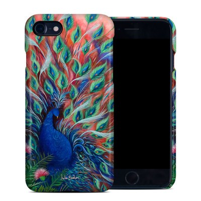 Apple iPhone 7 Clip Case - Coral Peacock