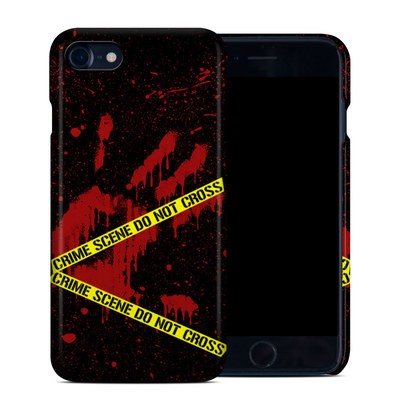 Apple iPhone 7 Clip Case - Crime Scene