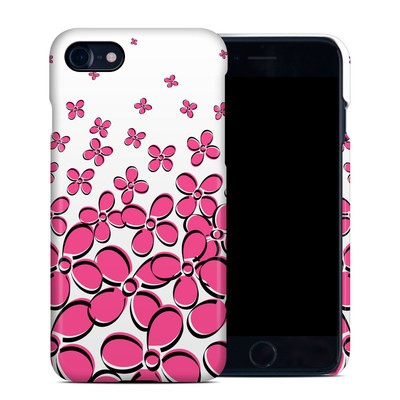 Apple iPhone 7 Clip Case - Daisy Field - Pink