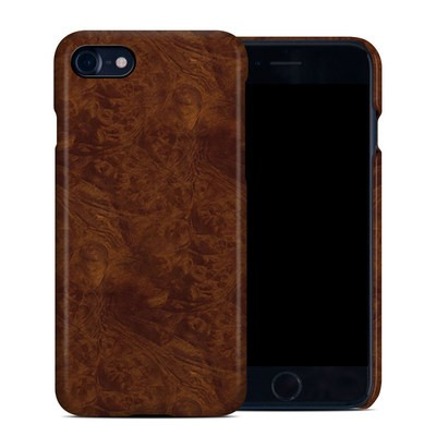 Apple iPhone 7 Clip Case - Dark Burlwood