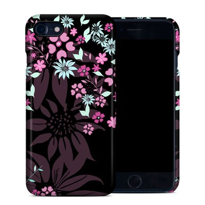 Apple iPhone 7 Clip Case - Dark Flowers