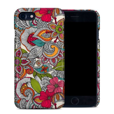 Apple iPhone 7 Clip Case - Doodles Color