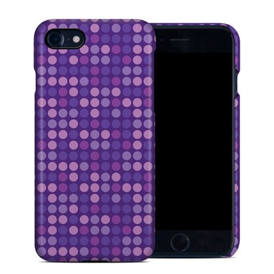Apple iPhone 7 Clip Case - Dots Purple