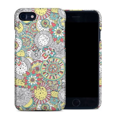 Apple iPhone 7 Clip Case - Faded Floral