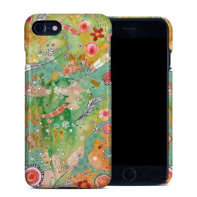 Apple iPhone 7 Clip Case - Feathers Flowers Showers