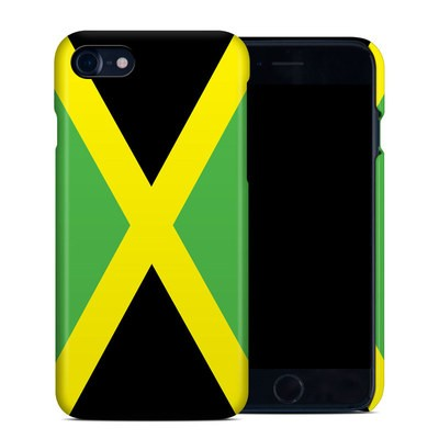 Apple iPhone 7 Clip Case - Jamaican Flag