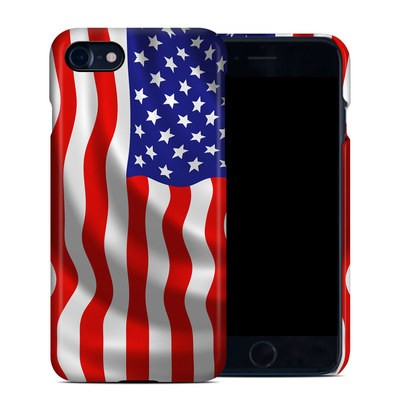 Apple iPhone 7 Clip Case - USA Flag