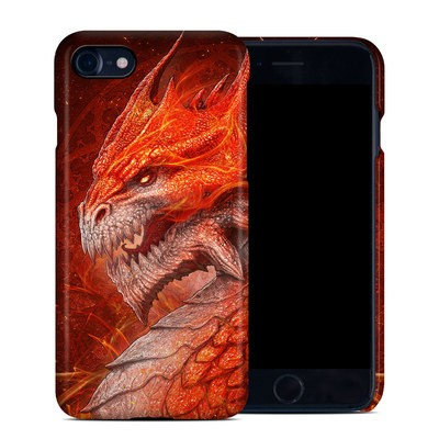 Apple iPhone 7 Clip Case - Flame Dragon