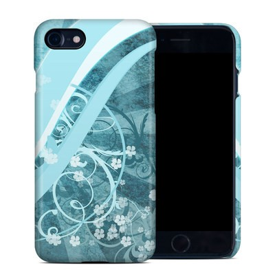 Apple iPhone 7 Clip Case - Flores Agua