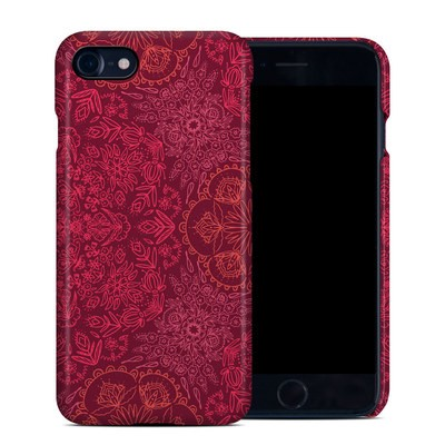 Apple iPhone 7 Clip Case - Floral Vortex