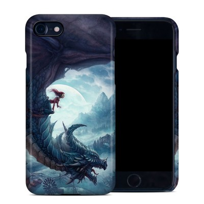 Apple iPhone 7 Clip Case - Flying Dragon