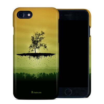Apple iPhone 7 Clip Case - Flying Tree Amber