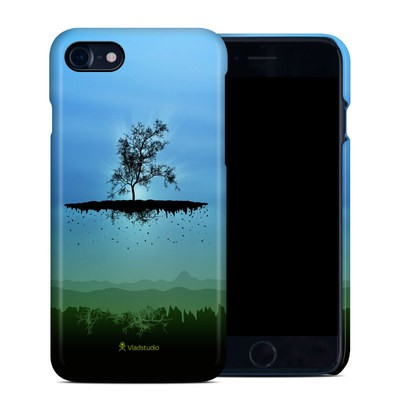 Apple iPhone 7 Clip Case - Flying Tree Blue