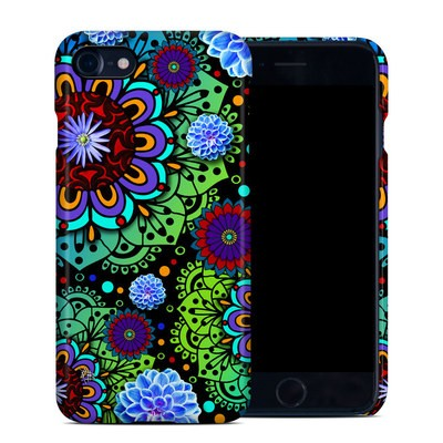 Apple iPhone 7 Clip Case - Funky Floratopia