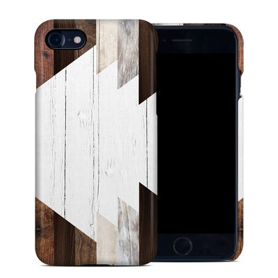 Apple iPhone 7 Clip Case - Geo Wood