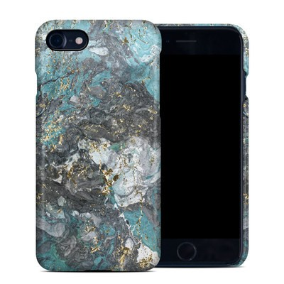 Apple iPhone 7 Clip Case - Gilded Glacier Marble