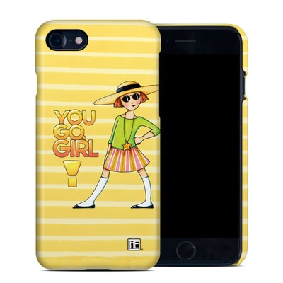 Apple iPhone 7 Clip Case - You Go Girl